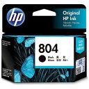 HP 純正 HP 804 インクカートリッジ(黒) 6N10AA