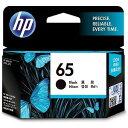 HP 純正 HP 65 インクカートリッジ(黒) N9K02AA