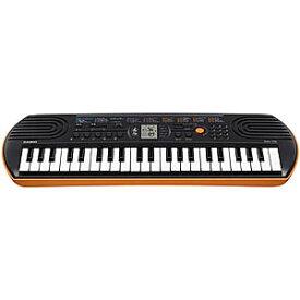 CASIO ミニキーボード (ブラック/オレンジ・44鍵盤) SA‐76