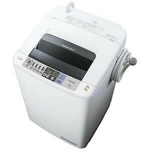 日立 全自動洗濯機 (洗濯8.0kg)「白い約束」 NW−80B−W(標準設置無料)