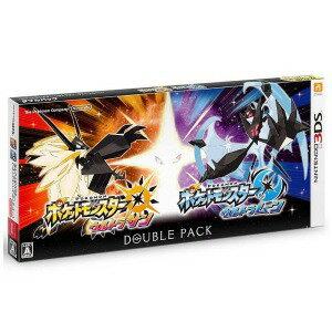 任天堂 3DSゲームソフト 『ポケットモンスター ウルトラサン・ウルトラムーン』ダブルパック(送料無料)