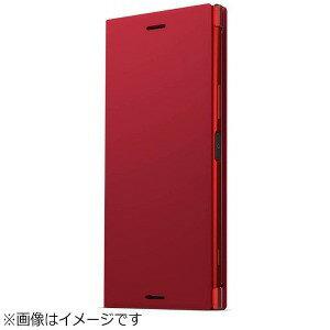ソニー 【ソニー純正】 Xperia XZ Premium用 StyleCoverStand ロッソ SCSG10JP/R