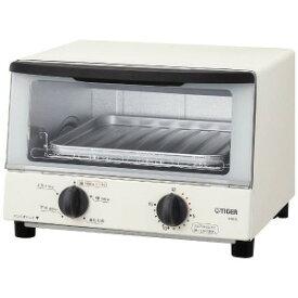 タイガー オーブントースター 「やきたて」 [1000W/食パン2枚] KAK−A100W−ホワイト