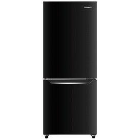 ハイセンス 2ドア冷凍冷蔵庫(150L・右開き) HR−D15CB パールブラック (標準設置無料)