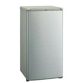 アクア AQUA 1ドア冷蔵庫(75L・右開き・直冷式) AQR−8G(S) ブラッシュシルバー(標準設置無料)