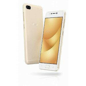 ASUS SIMフリースマートフォン ZenFone 4 Max ZC520KLGD32S3 サンライトゴールド(送料無料)