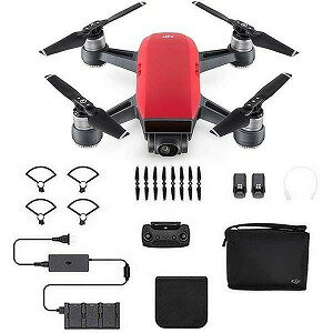 DJI SPARK(スパーク) Fly More Combo(JP) SPKCR(ラヴァレッド)(送料無料)