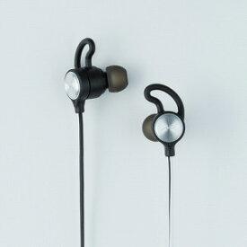 Ne ブルートゥースイヤホン カナル型 重低音 [マイク対応] HP−G100BTS シルバー [防水/Bluetooth]