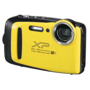 富士フィルム 防水コンパクトデジタルカメラ FinePix(ファインピックス) XP130(イエロー)(送料無料)