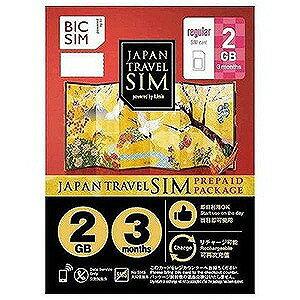IIJ 標準SIM 「BIC SIMジャパントラベルパッケージ」  IMB225