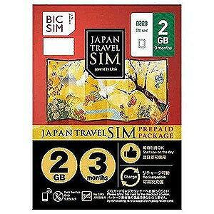 IIJ Nano SIM 「BIC SIM JAPAN TRAVEL SIM/2GB」 IM−B227 Prepaid・Data only・SMS unavailable