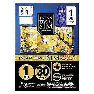 IIJ マイクロSIM 「BIC SIMジャパントラベルパッケージ 1GB」   IMB229