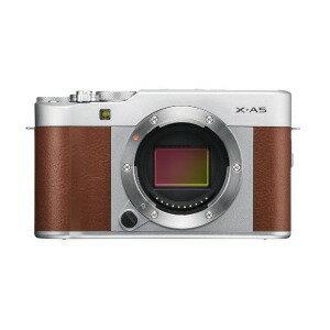 富士フィルム ミラーレス一眼カメラ (ボディのみ) X−A5 ブラウン(送料無料)
