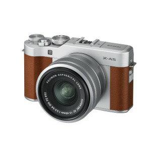 富士フィルム ミラーレス一眼カメラ (レンズキット) X−A5 ブラウン(送料無料)
