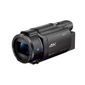 ソニー SONY メモリースティック/SD対応 64GBメモリー内蔵 4Kビデオカメラ FDR−AX60 (ブラック)