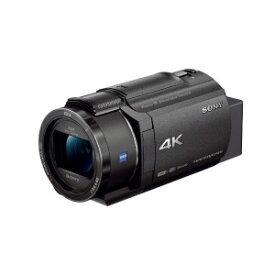 ソニー SONY メモリースティック/SD対応 64GBメモリー内蔵 4Kビデオカメラ FDR−AX45(B) (ブラック)