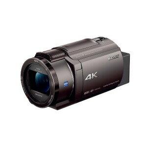 ソニー メモリースティック/SD対応 64GBメモリー内蔵 4Kビデオカメラ FDR−AX45(TI) (ブロンズブラウン)