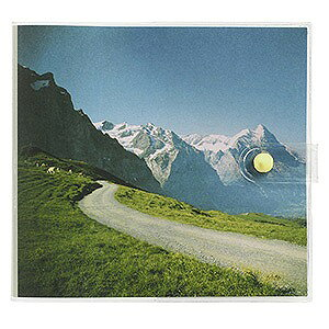 ナカバヤシ カバーポケットアルバム ましかくサイズ(127×127mm)1段20枚収納(フォト風景) アカ−PV127−201−3