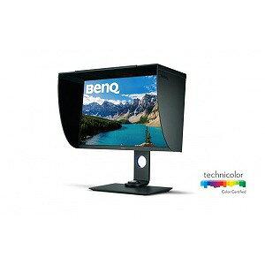 BENQ 27型ワイド フリッカーフリー HDR対応 カラーマネージメント液晶ディスプレイ SW271 グレー