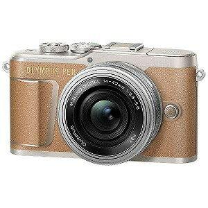 オリンパス ミラーレス一眼カメラ(14−42mm EZレンズキット) E−PL9(ブラウン)(送料無料)