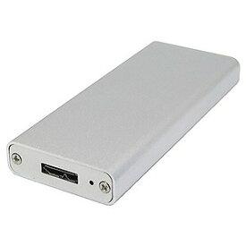 タイムリー M.2 SSD用 アルミケース M2−CASE−U3G1−SL シルバー