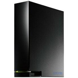 I・O・DATA ネットワークHDD 3TB デュアルコアCPU搭載 1ドライブ 高速ビジネスNAS HDL−AA3W ブラック