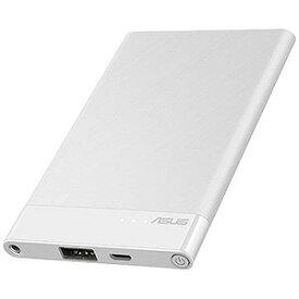 ASUS モバイルバッテリー[4000mAh/1ポート] 90AC02C0−BBT011 WH(ホワイト)