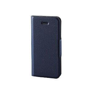エレコム iPhoneSE/5s/5 ソフトレザーカバー 薄型 磁石付 PMA18SPLFUNV(ネイヒ