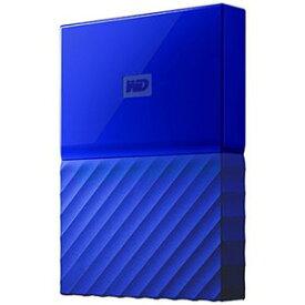ウエスタンデジタル 外付けHDD ブルー [ポータブル型 /4TB] WDBYFT0040BBL−JESN