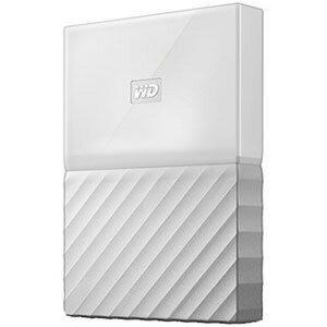 ウエスタンデジタル ポータブルHDD 4TB[USB−A 3.0・Win] My Passport WDBYFT0040BWT−JESN ホワイト(送料無料)