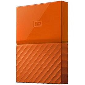 ウエスタンデジタル 外付けHDD オレンジ [ポータブル型 /4TB] WDBYFT0040BOR−JESN