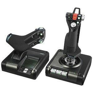 ロジクール スロットル&スティック式シミュレーションコントローラ GX52 PROFESSIONAL GX52P(送料無料)