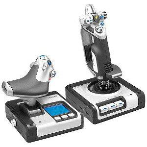 ロジクール スロットル&スティック式シミュレーションコントローラ X52 HOTAS  GX52(送料無料)