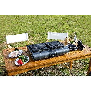岩谷産業 テーブルトップ型BBQグリル フラットツイングリル CBTBG1(送料無料)