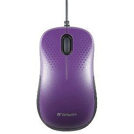 三菱ケミカルメディア 有線光学式マウス 静音モデル[USB 1.5m・Mac/Win・3ボタン] MUSYSVV3 パープル