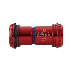 KCNC BBセット ロードBB 68mm シマノ BB30 263286 レッド