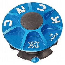 KCNC ヘッドセットパーツ SLアヘッドキャップセット 1−1/8 506304 ブルー
