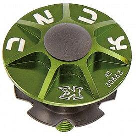 KCNC ヘッドセットパーツ SLアヘッドキャップセット 1−1/8 506306 グリーン