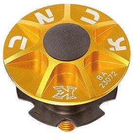 KCNC ヘッドセットパーツ SLアヘッドキャップセット 1−1/8 506309 ゴールド