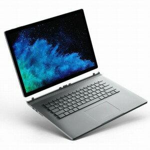 マイクロソフト Surface Book 2 15型タッチ対応ノートPC FUX−00010 シルバー (Office付き)