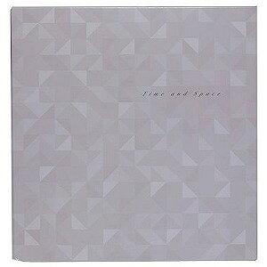 ナカバヤシ フエルアルバム L 25枚 フリー台紙(白) 時空間 25L−17