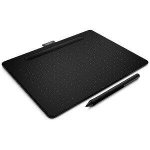 ワコム ペンタブレット Intuos Medium ワイヤレス CTL−6100WL/K0 ブラック