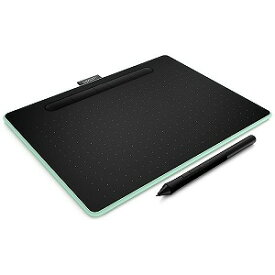 ワコム ペンタブレット Intuos Medium ワイヤレス CTL−6100WL/E0 ピスタチオ