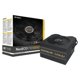 750W PC電源 80PLUS GOLD認証取得 高効率高耐久電源ユニット NeoECO NE750 GOLD