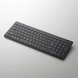 エレコム Bluetoothコンパクトキーボード/パンタグラフ式/ブラック TK−FBP101BK