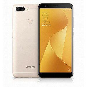 ASUS SIMフリースマートフォン Zenfone Max Plus M1 ZB570TL−GD32S4 サンライトゴールド(送料無料)