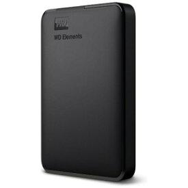 ウエスタンデジタル 外付けHDD ブラック [ポータブル型 /2TB] WDBUZG0020BBK−JESN
