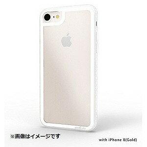 iPhone 8用 LINKASE CLEAR Gorilla Glass ATLCGIP87/WHT ホワイト縁・クリアTPU(送料無料)