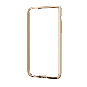 エレコム iPhoneX アルミバンパー 薄型 PM−A17XALBUGD ゴールド