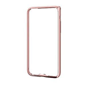 エレコム iPhoneX アルミバンパー 薄型 PM−A17XALBUPN ピンク